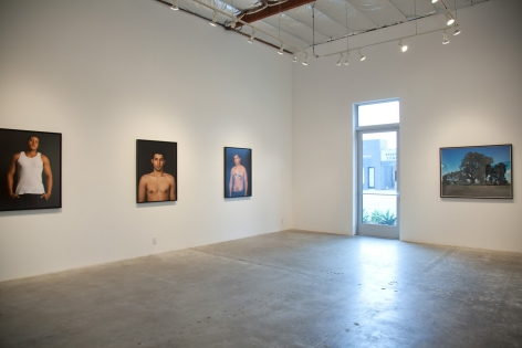 Installation View of Ken Gonzales-Day: Profiled | Hang Trees | Portraits