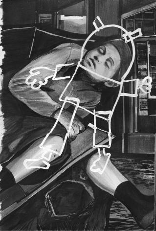 Hugo Crosthwaite Carpas Study, #2, 2013