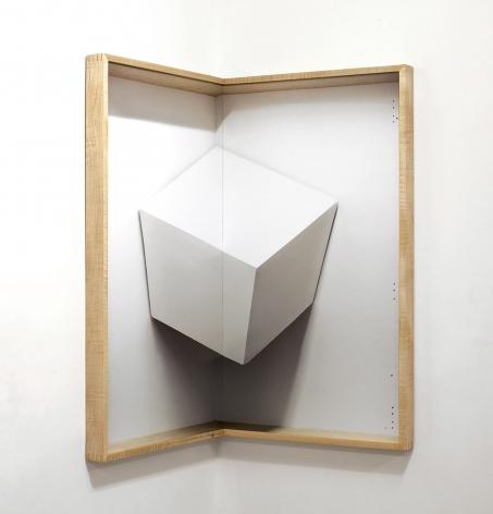 Chris Engman Corner Cube, 2013  Digital Print 42.5 x 42.5 in.