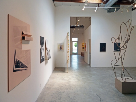 Installation View of Group Show: The Road