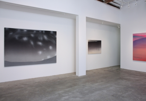 Installation View of Mara De Luca: saltus fidei | Leap of Faith