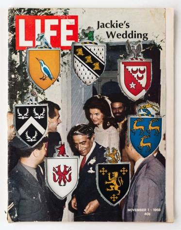 Dennis Koch, LIFE Cutout No. 010 (November 1, 1968, Jackie's Wedding Coat of Arms)