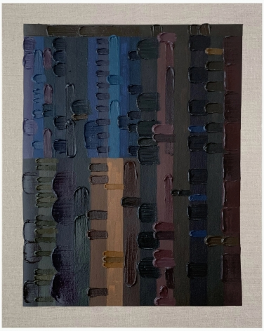 June Edmonds Untitled (Study for Flag Painting) II, 2020