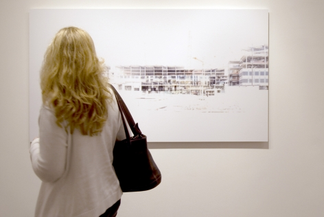 Installation View of Thom Heileson: Ghost space