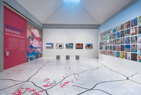 Installation View of Ken Gonzales-Day: Surface Tension