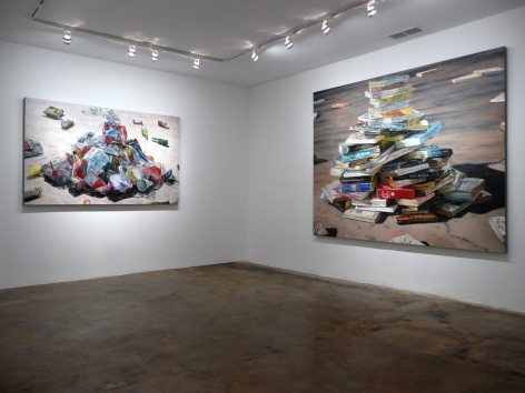 Installation View of Gail Roberts: Accumulations
