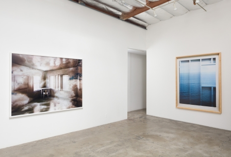 Installation View of Chris Engman: Refraction