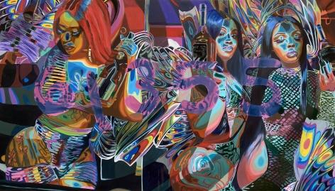 Caitlin Cherry Domain Vagues (Art McGee), 2020