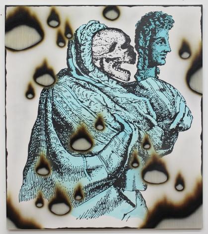 Josh Reames Vanitas, 2017 Acrylic on canvas 48 x 42 in.