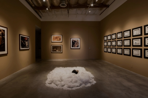 Installation View ofKen Gonzales-Day:Bone-Grass Boy: The Secret Banks of the Conejos River