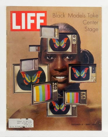 Dennis Koch Life Cutout No. 140 (October 17, 1969, Black Models Warhol), 2019