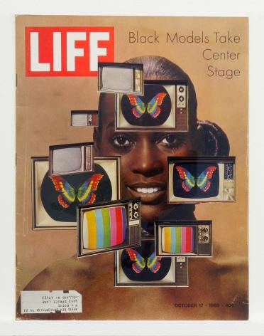 Dennis Koch Life Cutout No. 140 (October 17, 1969, Black Models Warhol), 2019