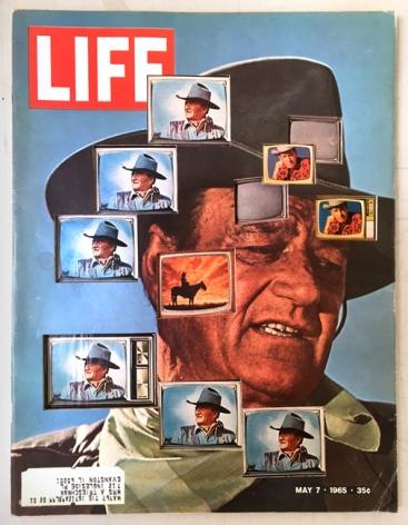 Dennis Koch, LIFE Cutout No. 131 (May 7, 1965, John Wayne TVs), 2018