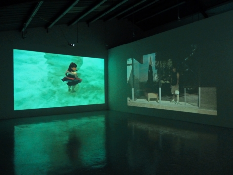 Installation View of Laerke Lauta: Out of the Desert