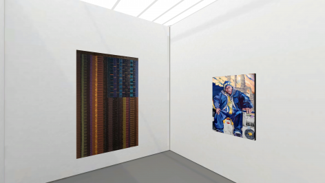 Installation View of Untitled Online Booth