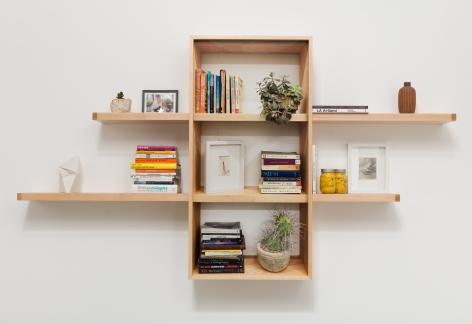 Chris Engman Bookshelves, 2019