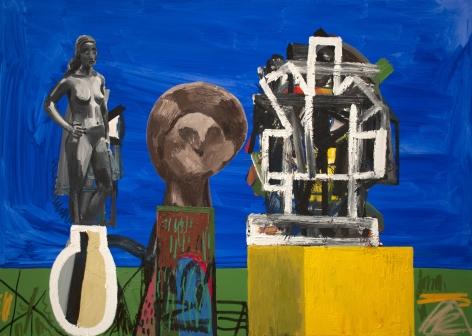 Erik Olson The Three Sculptures, 2018