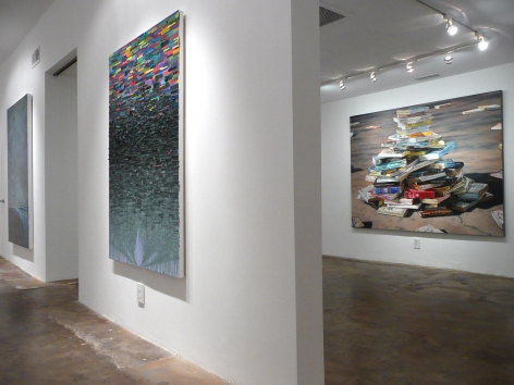 Installation View of Chris Barnard: No Exit