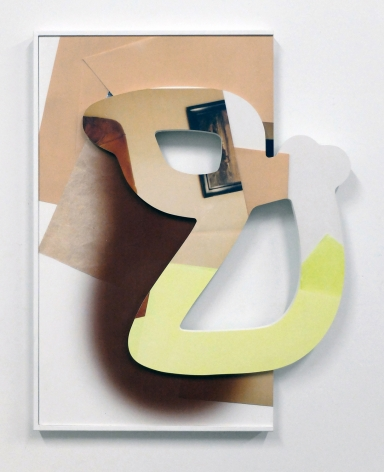 Kate Bonner Out of bounds, 2016 Digital prints on MDF  30 x 24 x 3 in.