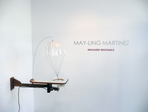 Installation View of May-Ling Martinez: Measured Resistance