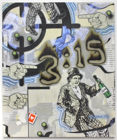 Josh Reames Other People's Vices, 2017 Acrylic on canvas 72 x 60 in.