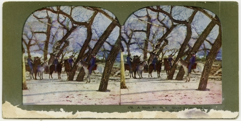 Ken Gonzalez-Day A Necktie Party, Unidentified Man, n.d.  Erased Lynchings Set III, 2006-2019 Archival injet print on rag paper mounted on cardstock 4.5 x 6 in.