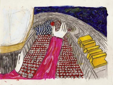 Still from Federico Solmi: The Evil Empire
