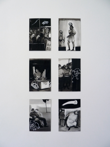 Installation View of Hugo Crosthwaite: Studies for Carpas