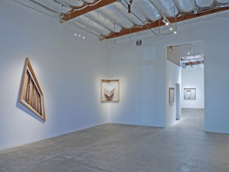 Installation View of Chris Engman:Ink on Paper