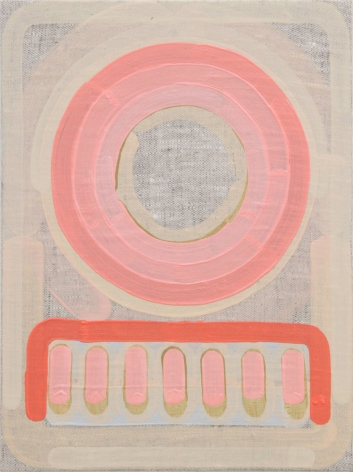 Lily Stockman Benares, 2014  Oil on Indian linen  12 x 9 inches