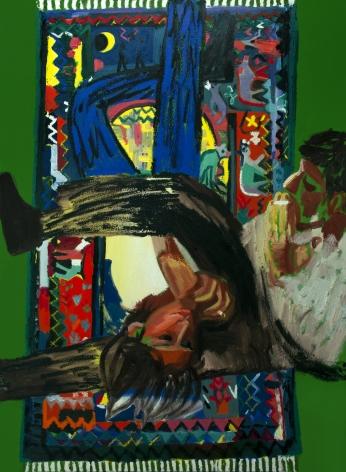 Erik Olson Lovers on the Kirchner Carpet, 2020