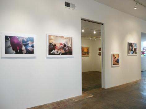 Installation View of Glenna Jennings: Raskolnikov