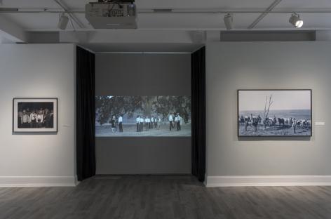 Installation View of Ken Gonzales Day: Shadowlands