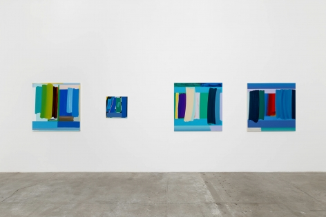 Installation View of Michael Kindred Knight: Deep End
