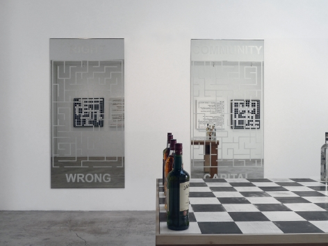 Installation View of Marcos Ramírez ERRE: Playing Series Serious