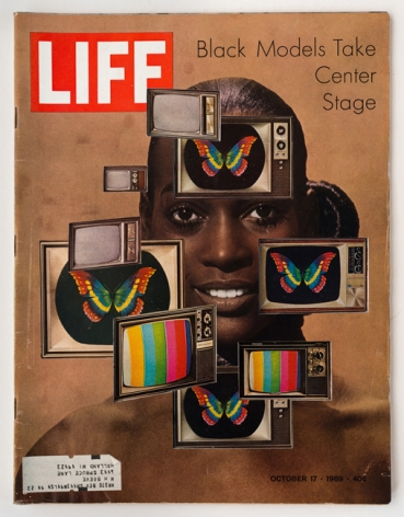 Dennis Koch, LIFE Cutout No. 046 (October 17, 1969, Black Model TV), 2018
