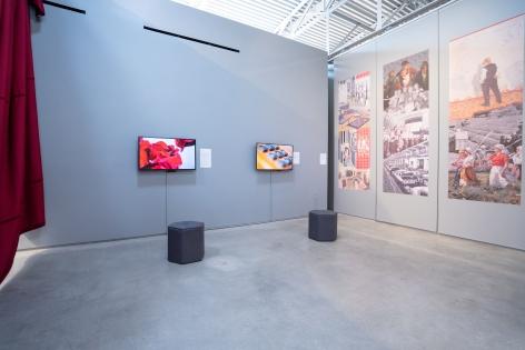Installation view ofTransformations: Living Room > Flea Market > Museum > Artat the Wende Museum, Culver City, CA.