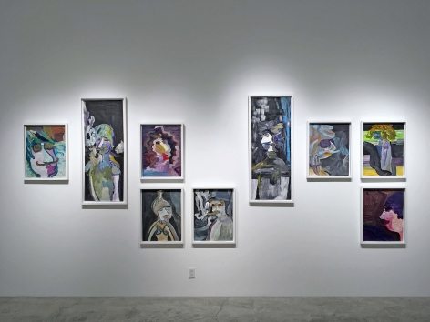 Installation view of Edie Beaucage: Sequencer-Spectrum-Reverb