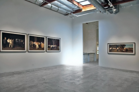 Installation View of Ken Gonzales-Day: Run-Up