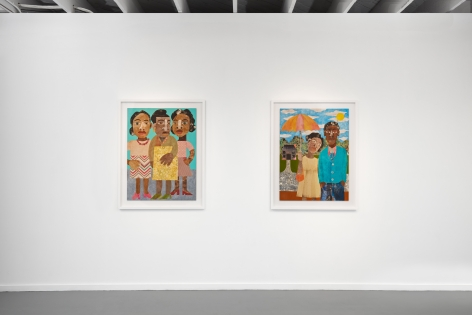 Install view of Evita Tezeno: Better Days