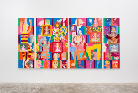 Installation view:  Peter Williams
