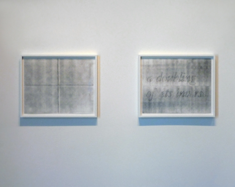 Installation View of Chris Engman, Cody Trepte, Samantha Roth and John Houch: Dualities, Omissions, Loops, and Ruptures