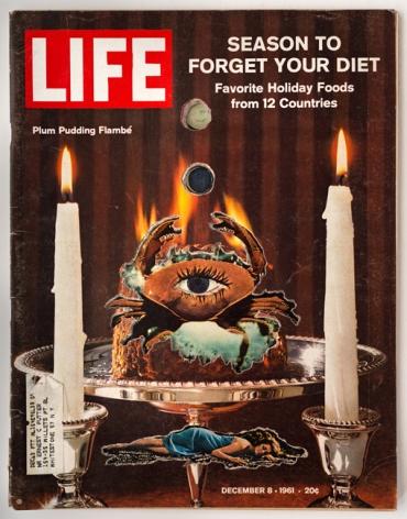 Dennis Koch, LIFE Cutout No. 076 (December 8, 1961, Crab Candles), 2018