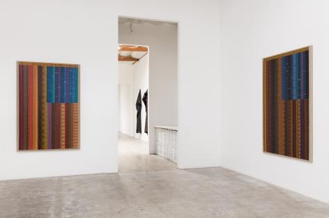 Installation View of June Edmonds: Allegiances & Convictions