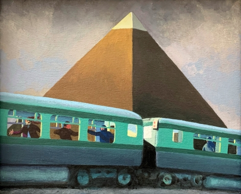 Jim Adams Nubian Express #3, 2000
