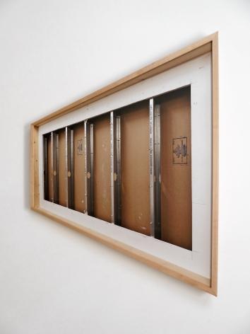 Chris Engman Skew, 2013 C-print 61.75 x 49 x 49 x 20.5 in.
