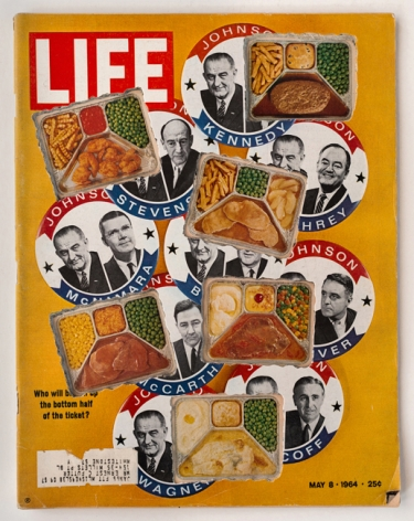 Dennis Koch, LIFE Cutout No. 095 (May 8, 1964, Candidates TV Dinners), 2018