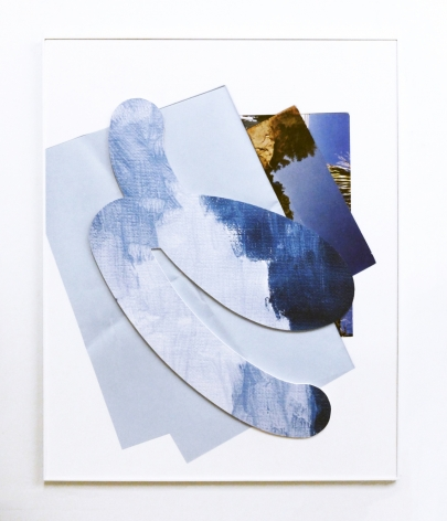 Kate Bonner Side to side and it will move, 2016  Digital prints on MDF  60 x 48 x 3 in.