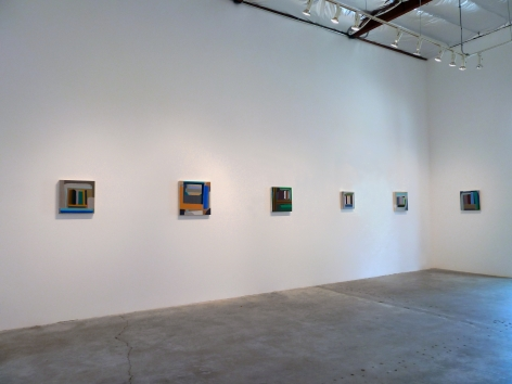 Installation View of Michael Kindred Knight: Wayward