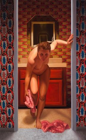 Laura Krifka Woman Drying Herself, 2019